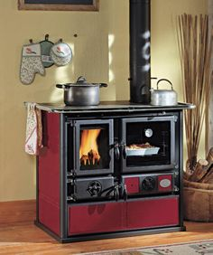 Wasserführender Küchenherd La Nordica Termo Rosa D.S.A -... | ovens ...