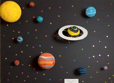 solar system planets craft , sun, moon, stars planets theme for preschoolers Solar System Projects For Kids, Space Projects, Solar Projects, Space Crafts, School Projects, Moon Stars, Sun Moon, Planet Crafts, Solar System Model