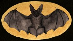 Fruit Bat Silhouettes by Laticis