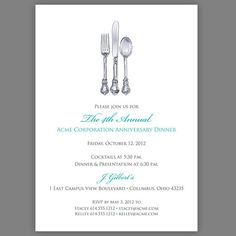Regal request corporate event invitations in black petite alma free printable dinner invites perfect for your galas and fundraising event dinners stopboris Gallery