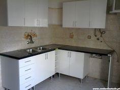 SENHOR FAZ TUDO - Faz tudo pelo seu lar !®: Montagem de uma cozinha Basic do Leroy Merlim no C...