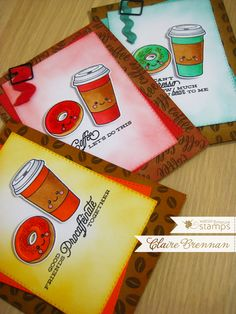 Waltzingmouse Makes. using Coffee Set and We-go-Together stamp sets. We Go Together, Mama Elephant, Coffee Set, Lawn Fawn, Coffee Lovers, Stamp Sets, Homemade Cards, Cardmaking, Card Ideas