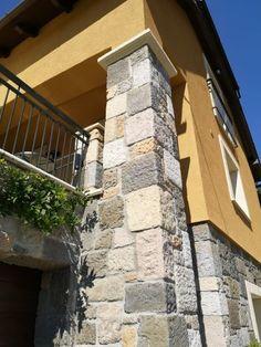 Régi kőépületeket idéző dekoráció egyedi tervezésű Otti sarokelemekkel - Cikkek - díszburkolat,térkő,cementlap,kandalló,fedlap,lépcső,lábazat,kőkút