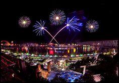Cincinnati Riverfest WEBN Fireworks
