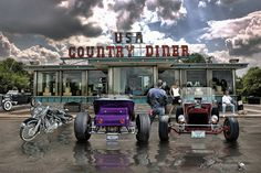 Never Have Traveled Such Roads Of Love .... by Rat Rod Studios