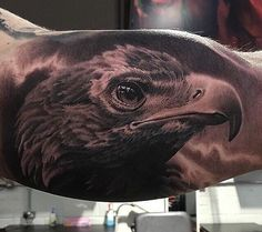 tattoo tatouage tatuaje aigle realism