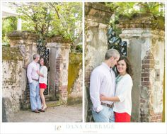 Downtown Charleston SC Engagement Session // Dana Cubbage Weddings // Charleston SC Wedding Photographer // www.danacubbageweddings.com