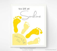 Crafty Catch: PitterPatterPrint - Baby Footprint Art - Little Fish