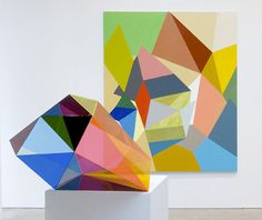 Color and shape! Paintings by Gemma Smith