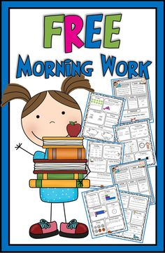 Morning work for second grade--FREE sample pages