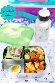 Preschool lunchbox ideas from YummyMummyKitchen.com