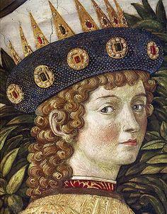 Benozzo Gozzoli, lorenzo il magnifico, cappella dei Magi - Laurent de Médicis — Wikipédia