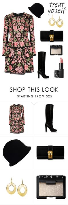 """untitled"" by j-yoshiko ❤ liked on Polyvore featuring Needle & Thread, Paul & Joe, Chanel, Hermès, Paul Frank and NARS Cosmetics"