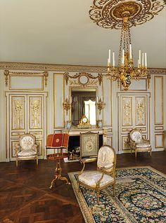 Boiserie del Hôtel de Cabris, Grasse PARIS 1774