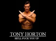Funny P90X Tony Horton picture. It's funny but also true...lol. Free help for P90X is available at ClutchCityFitness...