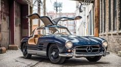 When the Mercedes-Benz 300 SL Gullwing was released in 1954, it was the fastest production car money could buy. The name was derived from th