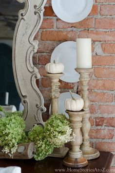 Candle Decor for Fall.
