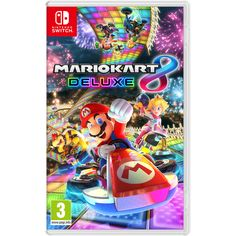 Mario Kart 8 Deluxe Video Game for Nintendo Switch System Region Free 45496590475 Mario Kart 8, Nintendo Mario Kart, Nintendo Games, Mario Kart Switch, Nintendo Decor, Playstation, Xbox, Wii U, Nintendo Switch Preço