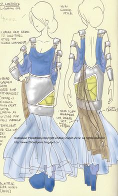 Blastoise dress by Lindsay -- 29CentPens
