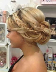 Image result for bridesmaids updos