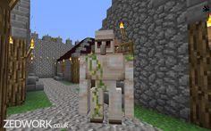 Iron Golem -     Minecraft Server: mc.zedwork.co.uk -    Website: www.zedwork.co.uk