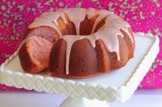 {{ Buttermilk Strawberry Bundt Cake with Sweet White Chocolate Strawberry Ganache }} - FOODGAZM..