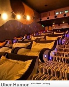 This cinema looks awesome.