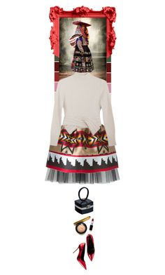 """""""Peru by Mario Testino..."""" by thehamptonsgirl ❤ liked on Polyvore featuring moda, Dsquared2, Maryam Nassir Zadeh e Chanel"""