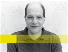 Alain De Botton - philosopher