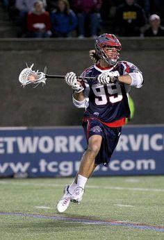 Paul Rabil, Professional Lacrosse Player. #thepursuitofprogression #Lufelive #Lacrosse #MLL Pic via: Jim Rogash/Getty Images