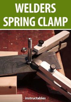 Put together a set of these handy spring clamps to help out with your welding projects.  #tool #workshop #welder #metalworking