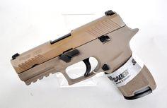 "Sig Sauer P320c Flat Dark Earth .357 SIG 3.9"" [New in Box] $589.99 | MMP Guns"