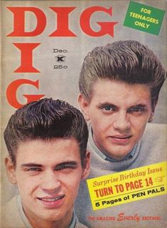 The Everly Brothers / Dig / 1958
