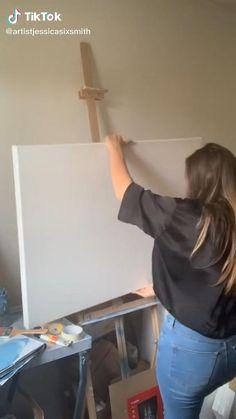 Easy Canvas Art, Simple Canvas Paintings, Cute Paintings, Art Drawings Sketches Simple, Pencil Art Drawings, Canvas Painting Tutorials, Acrylic Art, Watercolor Art, Artsy