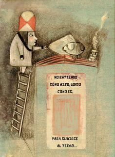 Natalia Jankowski argentina Cute Illustration, Naive, Spring 2016, Tapas, How To Draw Hands, Paintings, Cartoon, Books, Inspiration
