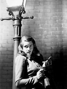 Nancy Guild in Somewhere in the Night, 1946.