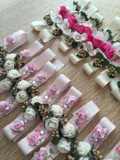 Nedime bilekliği Bridesmaid Corsage, Corsage Wedding, Wedding Bouquets, Wedding Flowers, Wedding Napkins, Wedding Favors, Wedding Gifts, Flower Corsage, Wrist Corsage