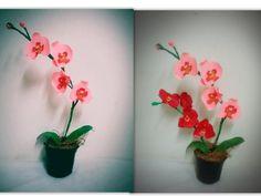 Bonsai origami flower tree http7tvbonsai origami diy paper orchids mightylinksfo