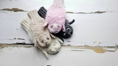 Sheeps Mittens/ Animals Gloves/ Kids Gloves/ by NataNatastudio