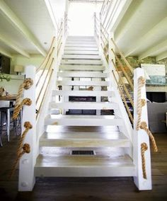 Nautical Stairs for the Beach House