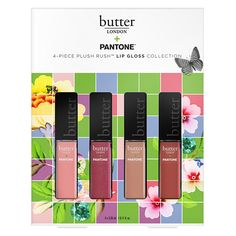 Restore, 4-Piece Plush Rush Lip Gloss Set