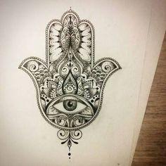 hamsa tattoo - Pesquisa Google More
