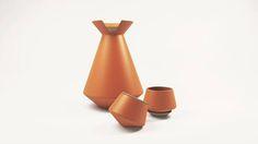 Para tu mezcal, Ruralista. #compradiseñomexicano mezcalera + vasitos hechos por artesanos nacionales.Búscalos en GMD.