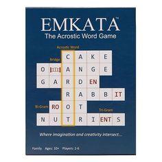 The Original Acrostic Word Game Emkata