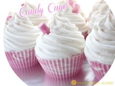 CANDY CANE | Soap cupcakes