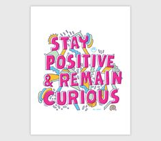 Blogtown, USA — Stay Positive & Remain Curious (if you want to),...
