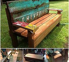Sunny Days and Repurposed Benches