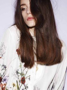 """Stacy Martin in """"Von Trier's Muse"""" byRasmus Skousen forCover,May 2013"""