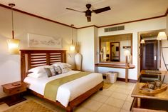 Renovation 2014: The rooms showcase brighter colours and new design elements, materials and bedding.   #AfricanDecor
