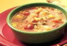 Spanish Chicken Soup? Yes please!
